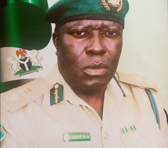 Controller General of Nigerian Correctional Service Haliru Nababa appoints Nse Akpan Ukut as new Controller of Corrections Akwa Ibom State command