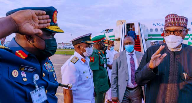 President Muhammadu Buhari to meet with security chiefs on Thursday as part of measures to tackle security challenges