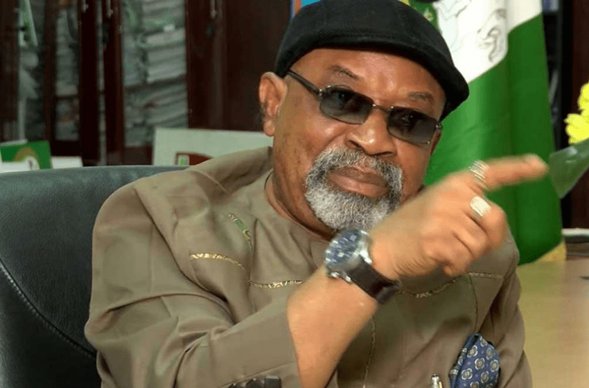 Minister of Labour and Employment, Dr Chris Ngige appeals to striking doctors to go back to work as negotiations continue