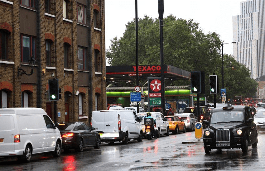 U.K suspends competition law to boost fuel supplies