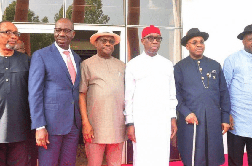 Governors of South-South geo-political zone meet in Rivers State
