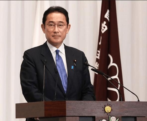 Japan's new prime minister Fumio Kishida takes office
