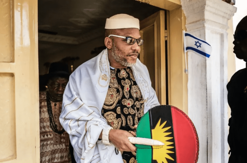 Court issues trial notice for October 21 prosecution of self-acclaimed leader of IPOB Nnamdi Kanu