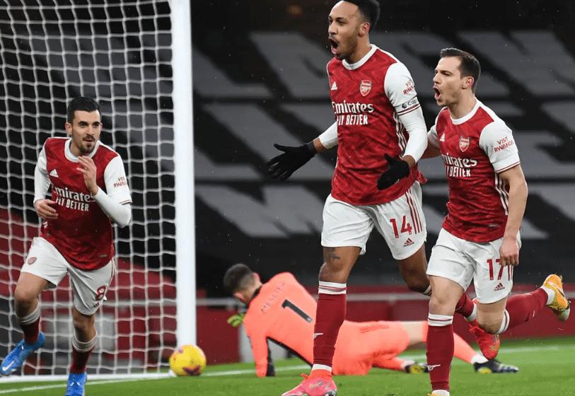 Arsenal beat Leeds United 2nil to reach Carabao cup quarterfinal